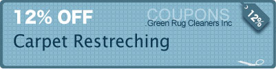 carpet Re-stretching services-free coupons