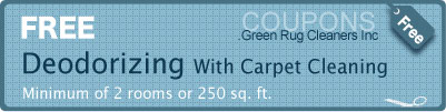 carpet Deodorizing-free coupons